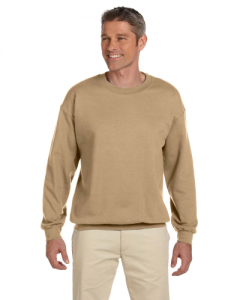 9.7 oz. Ultimate Cotton 90 10 Fleece Crew