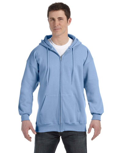 9.7 oz. Ultimate Cotton 90 10 Full Zip Hood