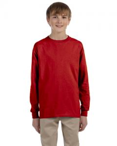 Dri POWER ACTIVE Youth 5.6 oz 5050 Long Sleeve T Shirt