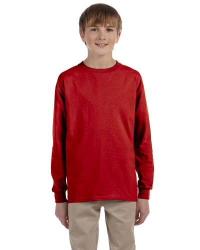 Dri POWER ACTIVE Youth 5.6 oz 5050 Long Sleeve T Shirt