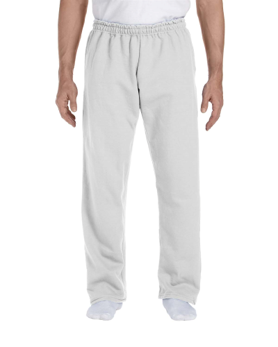 DryBlend 9.3 oz 50 50 Open Bottom Sweatpants