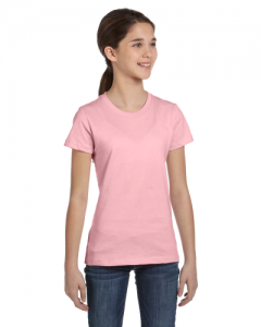 Girls Jersey Short Sleeve T Shirt