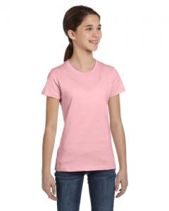 Girls Jersey Short Sleeve T Shirt