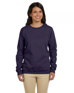 Heavy Blend Ladies 8 oz 50 50 Fleece Crew