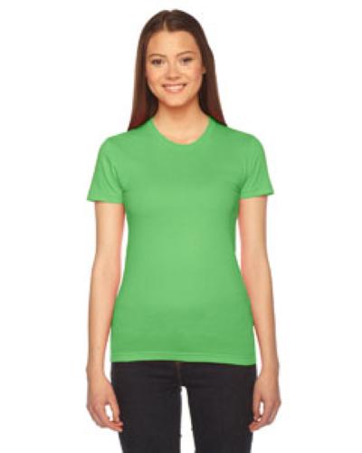 Ladies Fine Jersey Short Sleeve T Shirt