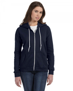 Ladies Full Zip Hooded Fleece