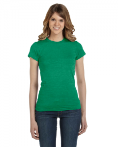 Ladies Ringspun Junior Fitted T Shirt