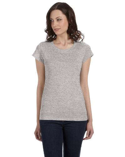 Ladies Sheer Jersey Short Sleeve T Shirt