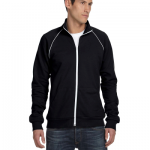 Mens Piped Fleece Jacket