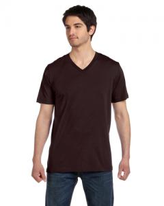 Unisex Jersey Short Sleeve V Neck T Shirt