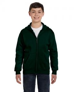 Youth 7.8 oz. ComfortBlend EcoSmart  50 50 Full Zip Hood