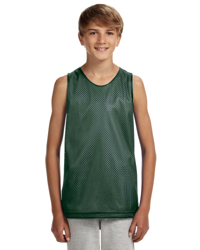 Youth Reversible Mesh Tank Shirt