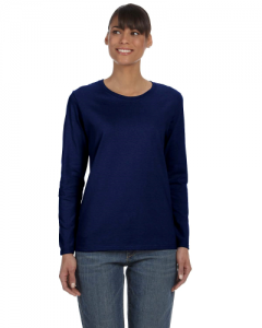 Heavy Cotton Ladies 5.3 oz. Missy Fit Long Sleeve T Shirt