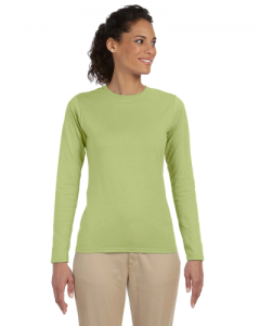 Softstyle Ladies 4.5 oz. Junior Fit Long Sleeve T Shirt