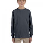 Ultra Cotton Youth 6 oz. Long Sleeve T Shirt