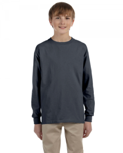 Ultra Cotton Youth 6 oz. Long Sleeve T Shirt