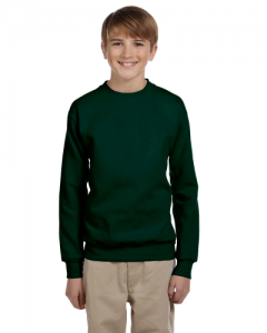 Youth 7.8 oz. ComfortBlend EcoSmart  50 50 Fleece Crew